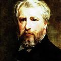 Dedication To William Adolphe Bouguereau by Georgiana Romanovna