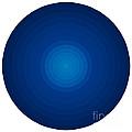 Deep Blue Circles by Frank Tschakert