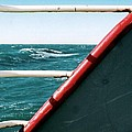 Deep Blue Sea Of The Gulf Of Mexico Off The Coast Of Louisiana Louisiana by Michael Hoard