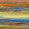 Deep Color Field 4 by Mark Greenberg