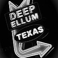 Deep Ellum Black And White by Robert ONeil
