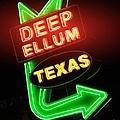 Deep Ellum Red Glow by Robert ONeil