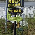 Deep Ellum Texas by Allen Sheffield