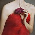 Deep Red by Malgorzata Maj