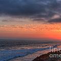 Deep Red Sunset by Deborah Smolinske