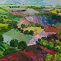 Deep Ridge Red Hill by Allan P Friedlander