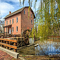 Deep River County Park Grist Mill by Paul Velgos