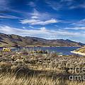 Deer Creek Dam-provo Utah by Douglas Barnard