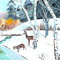 Deer Creek In Winter by Chris McCullough