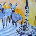 Deer by Lucia Hoogervorst