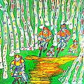 Deer Valley Mountain Biking 1 by Richard W Linford