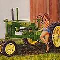 1938 Model B John Deere by Rick Bennett