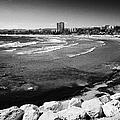 Defensive Breakwater At Els Pilons On The Costa Dorada Catalonia Spain by Joe Fox