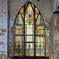 Defiant Stain Glass Church Window #1 by Paul Cannon