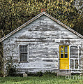 Defiant Yellow Door by Terry Rowe