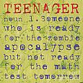 Definition Of Teenagers by Debbie DeWitt