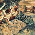 Degas, Edgar 1834-1917. Four Dancers by Everett