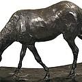 Degas, Edgar 1834-1917. Horse by Everett