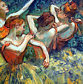 Degas' Four Dancers Up Close by Cora Wandel