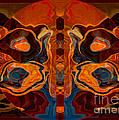 Deities Abstract Digital Artwork by Omaste Witkowski