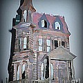 Delapitated Victorian Mansion by John Malone
