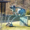 Delaware Art Museum Lawn  by Mark Holden