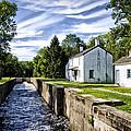 Delaware Canal Kingston New Jersey by Bill Cannon