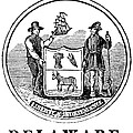 Delaware State Seal by Granger