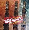 Delhi Daredevils In Delhi by Niveditha S