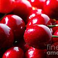 Delicious Cherries by Jan Brons