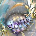 Delightful Tone - Abstract Art by Sipo Liimatainen