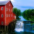 Dells Mill by Chuck De La Rosa