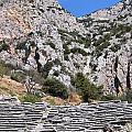 Delphi Stadium Ruins 2 by Teresa Ruiz