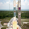 Delta II Launch With Space Telescope by Science Source