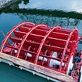 Delta Queen Paddle Wheel by Kay Pickens