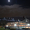 Delta Queen Under A Full Moon by Kathy  White