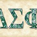 Delta Sigma Phi - Parchment by Stephen Younts