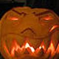 Demented Mister Ullman Pumpkin 2 by Shawn Dall