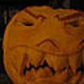 Demented Mister Ullman Pumpkin 3 by Shawn Dall