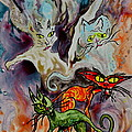 Demon Cats Haunted by Beverley Harper Tinsley