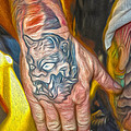 Demon Tattoo by Gregory Dyer