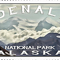 Denali Postage Stamp  by Heather Applegate