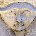 Dendara Carving 2 - Hathor by Brian Raggatt