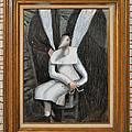 Dennice - Framed by Nancy Mauerman