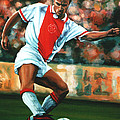 Dennis Bergkamp 2 by Paul Meijering