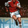 Dennis Bergkamp by Paul Meijering