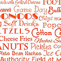 Denver Broncos Game Day Food 1 by Andee Design