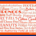 Denver Broncos Game Day Food 2 by Andee Design