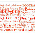 Denver Broncos Game Day Food 3 by Andee Design