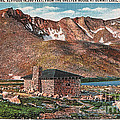 Denver Mountain Parks Antique Post Cards by Janice Pariza